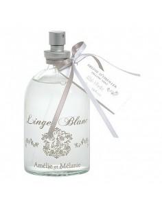 Brume d'oreiller,Linge Blanc, Amélie et Mélanie, 100 ml