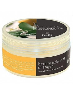 Body scrub with sea salt and shea butter, Orange blossom, Tadé, 250 g