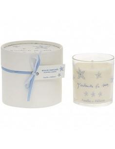 Scented candle, J'entends la mer, Amélie et Mélanie, 140 g