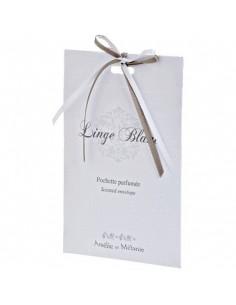 Pochettes parfumées, Linge Blanc, Amélie et Mélanie