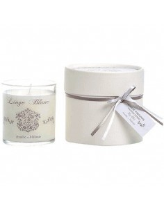 Scented candle, Linge Blanc, Amélie et Mélanie, 140 g