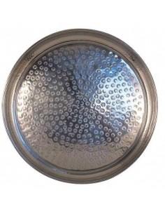 Serviertablett aus Aluminium, Tadé, 40 x 5 cm