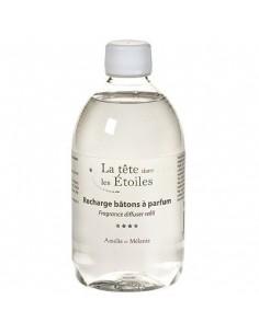 Fragrance diffuser refill, La Tête dans les Étoiles, Amélie et Mélanie, 500 ml