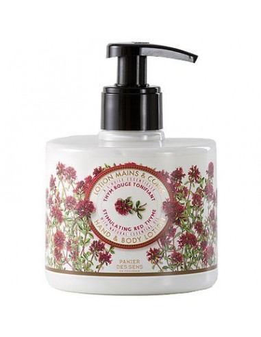 Lotion for Body and Hand, Panier des Sens, Red Thyme, 300 ml