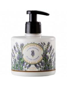 Lotion für Körper und Hände, Panier des Sens, Lavendel, 300 ml