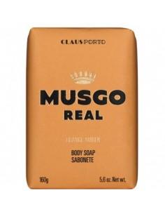 Körperseife, Men's Body Soap, Orange Amber, Musgo Real, 160 g