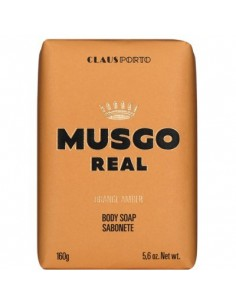 Men's Body Soap, Orange Amber, Musgo Real, 160 g