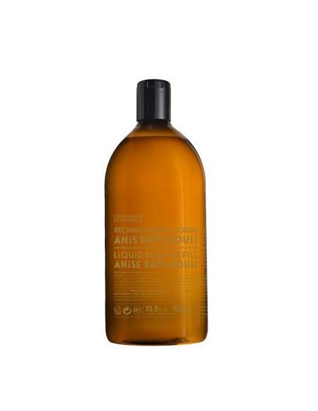 Flüssigseife aus Marseille mit Olivenöl, Nachfüllflasche,  Version Originale, Comagnie de Provence, 1000 ml