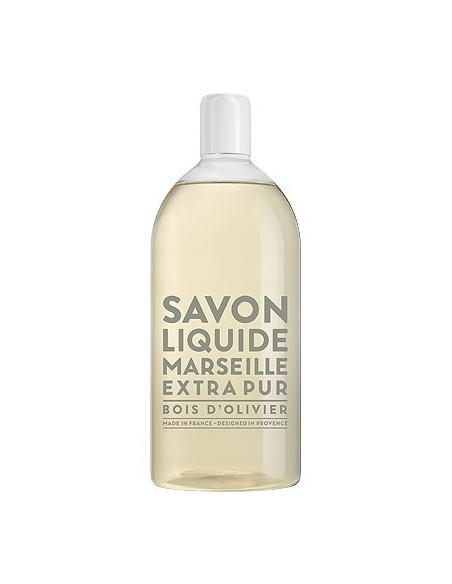 Savon de Marseille Flüssigseife, Extra Pur, Compagnie de Provence, Nachfüllflaschen, 1000 ml