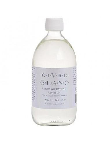 Fragrance Diffuser Refill, Givre Blanc, Amélie et Mélanie, 500 ml