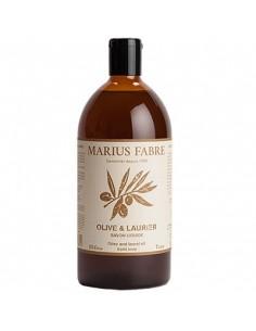 Recharge savon liquide d' Alep, Alep, Marius Fabre, 1000 ml