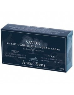 Soap with Donkey Milk and Argan oil, Anes et Sens, 100 g