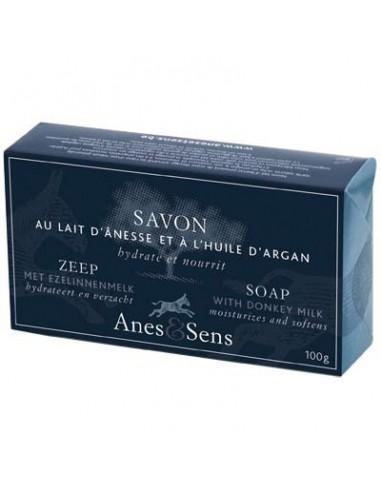 Seife mit Eselsmilch und Arganöl, Anes et Sens, 100 g