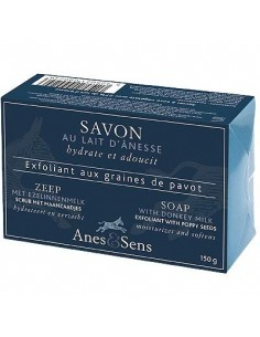 Scrub-soap with poppy seeds and Donkey Milk, Anes et Sens,, 150 g