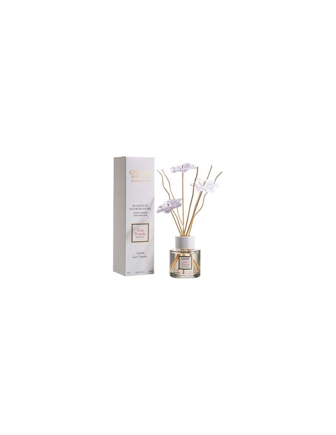 Bouquet aromatique fleurs blanches collines de provence for Bouquet roses blanches