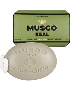 Soap on a Rope, Körperseife, Classic, Musgo Real, 190 g