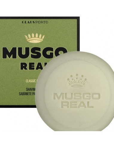 Shaving Soap, Rasierseife, Classic, Musgo Real, 125 g