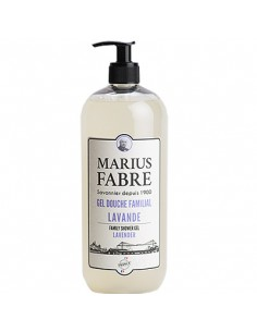 "Shower gel for the whole family, bio care series ""1900"", Marius Fabre, Lavender, 1 l"