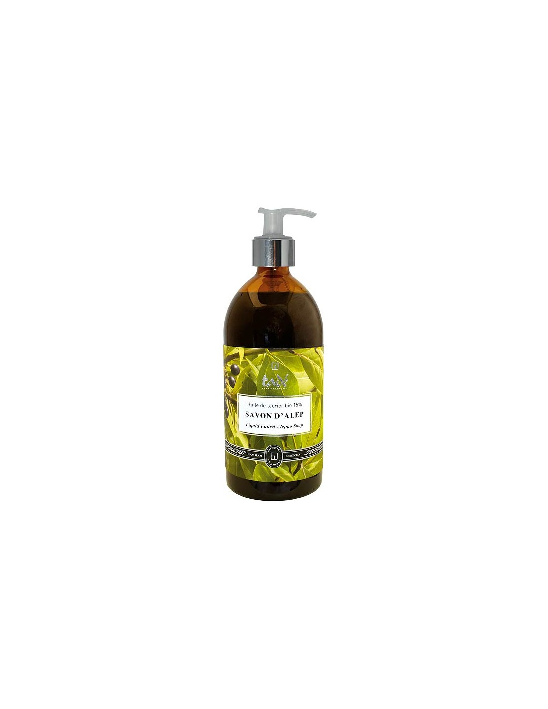 savon d'alep 15 d'huile de laurier