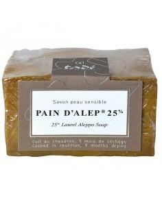 Alepposeife 25 % Lorbeeröl, Pain d'Alep, Tadé, 200 g