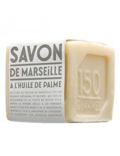 Savon de Marseille Cube blanc, Compagnie de Provence, 150 g, Palme