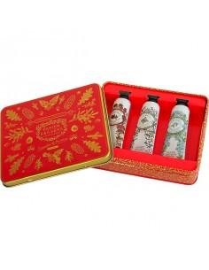 Metallbox Handcreme, Panier des Sens, roter Thymian, Meerfenchel und Eisenkraut, 3 x 30 ml