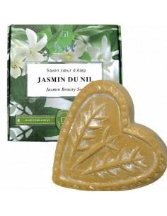 Aleppo-Seife in Herzform, Jasmin du Nil, Tadé, 150 g