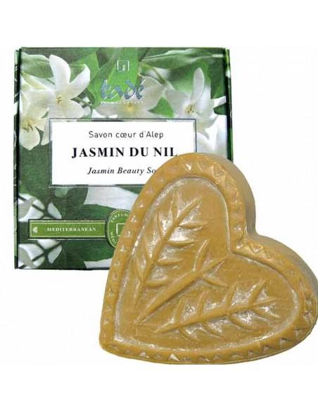 Aleppo Soap Heart, Jasmin du Nil, Tadé, 150 g