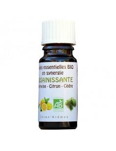 Huile essentielle, Bio, Ceven Âromes, 10 ml, synergie Assainissante