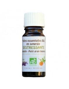 Huile essentielle, Bio, Ceven' Arômes, 10 ml, synergie Destressante
