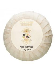 Seife, Eaux de Parfum, Musc Blanc, Collines de Provence, 150 g, weißer Moschus
