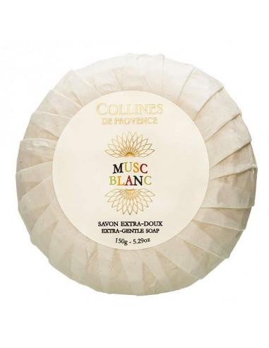Savon, Eaux de Parfum, Musc Blanc, Collines de Provence, 150 g, white Musk