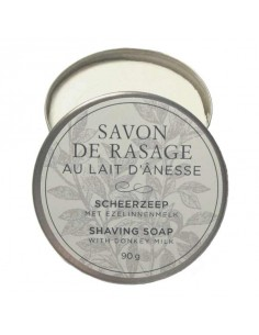 Shaving soap with donkey milk, Anes & Sens, 90 g