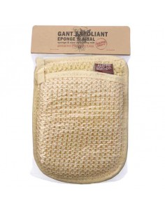 Exfoliating Mitt, Sponge and Sisal, Tadé