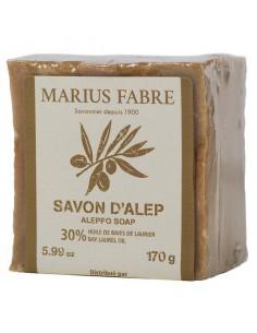 Savon d'Alep 30 %, Alep, Marius Fabre, 170 g