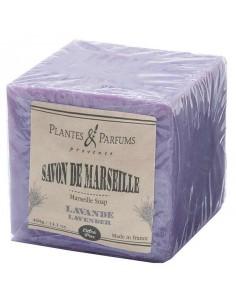 Lavender Soap Cube, Plantes et Parfums de Provence, 400 g