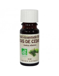 Huile essentielle, Bio, Ceven' Arômes, 10 ml, Bois de cèdre