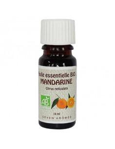 Organic Essential Oil, Ceven' Arômes, 10 ml, Mandarin