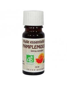 Organic Essential Oil, Ceven' Arômes, 10 ml, Grapefruit