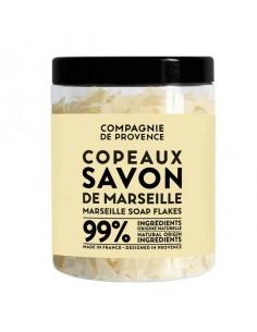 Flockenseife Marseille traditionell, parfümfrei, Compagnie de Provence, 350 g