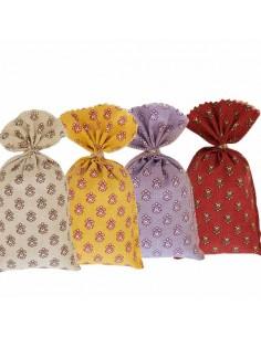 Lavendelsäckchen im 4er Set mit provenzalischen Muster