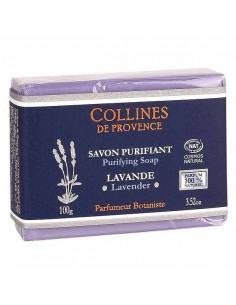 Savon Purifiant, Lavande, Collines de Provence, 100 g, Cosmos