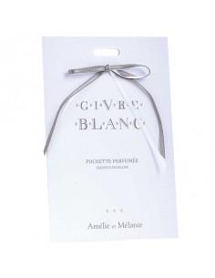 Parfümierter Umschlag, Givre Blanc, Amélie et Mélanie