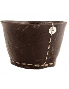 Tidy Pot, Medium, from recycled tyres